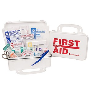 ECONO FIRST AID KIT, HART, POLY BOX