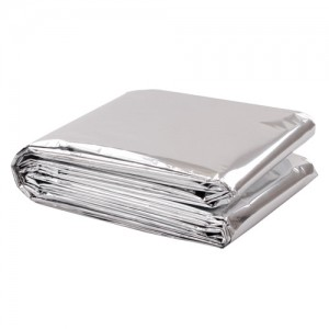 Mylar Blanket 84 inch x 52 inch Case of 250