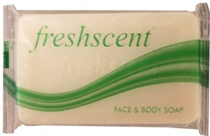 Freshscent Face & Body Soap 3/4 oz box of 100