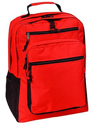 Backpack Red for Hikers, School, Camping, Survival Kit, Survival Gear